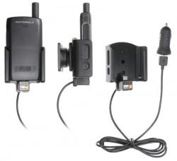 Support Motorola ST7000 avec adaptateur allume-cigare et cable USB. Réf Brodit 721001