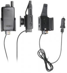 Support Motorola ST7000 avec adaptateur allume-cigare et cable USB - avec sécurité paysage. Réf Brodit 721011