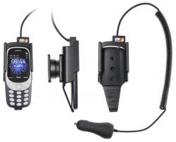 Support téléphone Nokia 3310 (2017) avec chargeur allume-cigare. Réf Brodit 712026