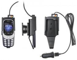 Support téléphone Nokia 3310 (2017) avec adaptateur allume-cigare et cable USB. Réf Brodit 712026
