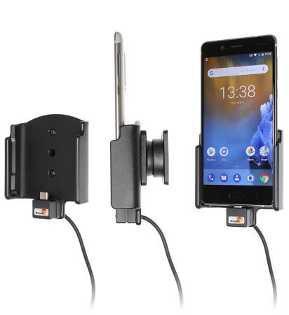 support t l phone nokia 8 avec adaptateur allume cigare et. Black Bedroom Furniture Sets. Home Design Ideas
