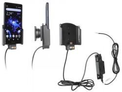 Support téléphone Sony Xperia XZ2 Compact pour installation fixe. Réf Brodit 727052