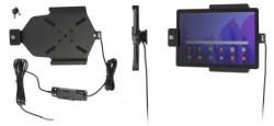 Support pour Samsung Galaxy Tab A7 10.4 (2020) pour installation fixe - verrouillé à clé. Réf Brodit 736229