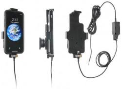 Support voiture iPhone X pour appareil avec étui de hauteur 144-150 mm, de largeur 78 mm et d'épaisseur 2-11 mm - pour installation fixe. Réf Brodit 527998
