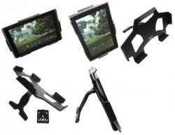 MultiStand  Brodit Asus Eee Pad Transformer TF101 MultiStand - Adaptateur de montage et vis incluses. Noir. Réf 215494