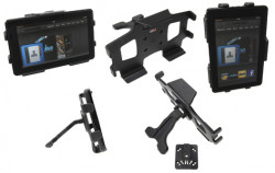 MultiStand  Brodit Amazon Kindle Fire MultiStand - Adaptateur de montage et vis incluses. Noir. Réf 215507