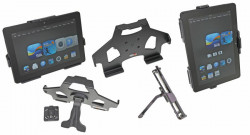 MultiStand  Brodit Amazon Kindle Fire HDX 8.9 MultiStand - Adaptateur de montage et vis incluses. Noir. Réf 215594