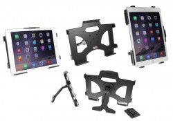 MultiStand Brodit Apple iPad Air 2 MultiStand - Adaptateur de montage et vis incluses. Noir. Réf 215722