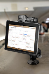 Support antivol iPad avec code de déverouillage