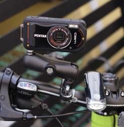Support appareil photo ou caméra pour moto, vélo
