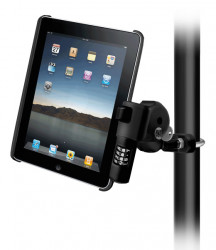 Support iPad 1 et 2 antivol montage tube