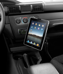 Support iPad 1 ou 2 sur bras flexible 45 cm