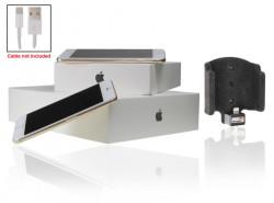 Support voiture  Brodit Apple iPhone 6  pour fixation cable - Utilisation avec câble Apple Lightning d'origine Avec rotule. Surface &quot