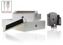 Support voiture Brodit Apple iPhone 6 pour fixation cable - Utilisation avec câble Apple Lightning d'origine Support réglable. Pour appareil avec étui de dimensions: Larg: 62-77 mm, épaiss.: 2-10 mm. Réf 514666