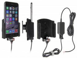 Support voiture Brodit Apple iPhone 6 / iPhone 7 installation fixe - Avec rotule. Chargeur approuvé par Apple. Surface