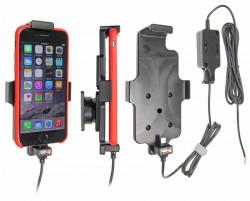 Support voiture Apple iPhone 6/6S/7/8 pour installation fixe. Compatible étui de dimensions: Hauteur: 137-144 mm, Larg: 75 mm, épaiss.: 2-11 mm. Réf 527662