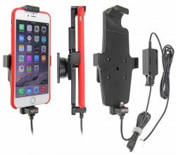 Support voiture Apple iPhone 6Plus/6SPlus/7Plus/8Plus/Xs Max pour installation fixe. Pour appareil avec étui. Réf 527663