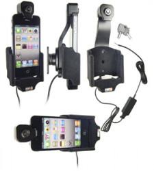 Support voiture  Brodit Apple iPhone 4  antivol - Pour une installation fixe. Surface &quot