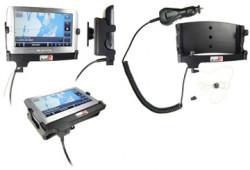 Support voiture  Brodit Navigon 8100T  avec chargeur allume cigare - Avec rotule. Grâce à la connectivité TMC, antenne TMC inclus. 12/24 Volt. Réf 278021