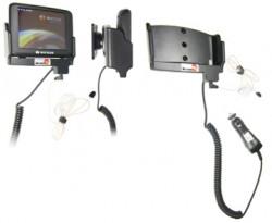 Support voiture  Brodit Navigon 2200  avec chargeur allume cigare - Avec rotule. Grâce à la connectivité TMC, antenne TMC inclus. 12/24 Volt. Réf 278031