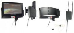 Support voiture  Brodit Navigon 7200  installation fixe - Avec rotule. Grâce à la connectivité TMC, antenne TMC inclus. 12/24 Volt. Réf 279030
