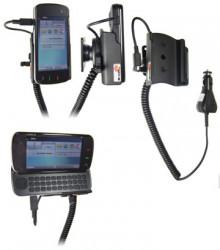 Support voiture  Brodit Nokia N97  avec chargeur allume cigare - Avec rotule orientable. Réf 512008