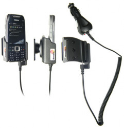 Support voiture  Brodit Nokia E75  avec chargeur allume cigare - Avec rotule. Pour un montant position fermée. Réf 512009
