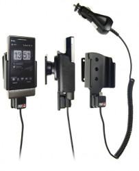 Support voiture  Brodit HTC Touch Diamond 2 T5353  avec chargeur allume cigare - Avec rotule orientable. Réf 512011
