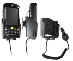Support voiture  Brodit Motorola MC55  avec chargeur allume cigare - Avec rotule. Pour appareil avec batterie standard et étendu. Réf 512013