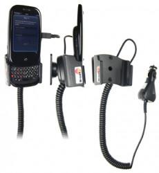 Support voiture  Brodit Palm Pre  avec chargeur allume cigare - Avec rotule. Pour une position ouverte. Réf 512028