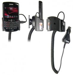 Support voiture  Brodit BlackBerry Tour 9630  avec chargeur allume cigare - Avec rotule orientable. Réf 512036