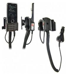 Support voiture  Brodit Nokia 6700 Classic  avec chargeur allume cigare - Avec rotule orientable. Réf 512037