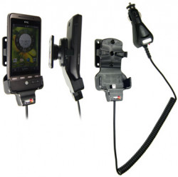 Support voiture  Brodit HTC Hero  avec chargeur allume cigare - Avec rotule orientable. Réf 512038