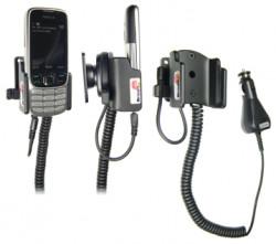 Support voiture  Brodit Nokia 2323 Classic  avec chargeur allume cigare - Avec rotule. Réf 512040