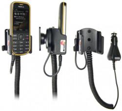 Support voiture  Brodit Nokia 3720 Classic  avec chargeur allume cigare - Avec rotule orientable. Réf 512051