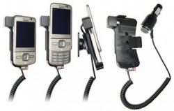 Support voiture  Brodit Nokia 6710 Navigator  avec chargeur allume cigare - Avec rotule orientable. Réf 512062