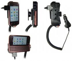 Support voiture  Brodit Nokia N97 Mini  avec chargeur allume cigare - Avec rotule orientable. Réf 512072