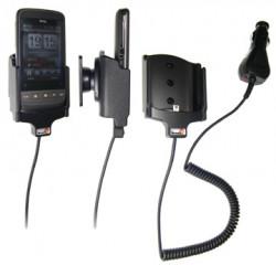 Support voiture  Brodit HTC Touch2  avec chargeur allume cigare - Avec rotule orientable. Réf 512075