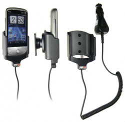 Support voiture  Brodit HTC Hero 200 (CDMA)  avec chargeur allume cigare - Avec allume-cigare. Réf 512081