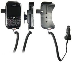 Support voiture  Brodit BlackBerry Bold 9000  avec chargeur allume cigare - Avec rotule orientable. Réf 512083