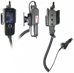 Support voiture  Brodit Nokia 2700 Classic  avec chargeur allume cigare - Avec rotule orientable. Réf 512087