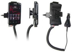 Support voiture  Brodit BlackBerry Storm 2  avec chargeur allume cigare - Avec rotule orientable. Réf 512092