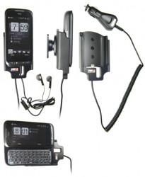 Support voiture  Brodit HTC Touch Pro2 (CDMA, US Celluler)  avec chargeur allume cigare - Avec rotule orientable. Réf 512093