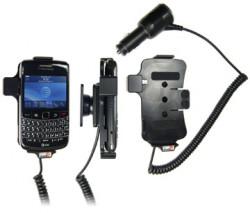 Support voiture  Brodit BlackBerry Bold 9700  avec chargeur allume cigare - Avec rotule orientable. Réf 512095
