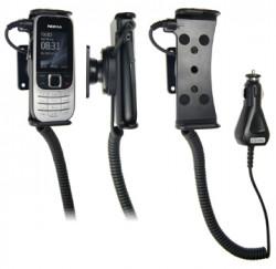 Support voiture  Brodit Nokia 2330 Classic  avec chargeur allume cigare - Avec rotule orientable. Réf 512096