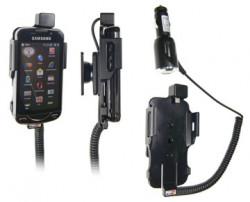 Support voiture  Brodit Samsung Omnia Pro B7610  avec chargeur allume cigare - Avec rotule. Pour position fermée. Réf 512098