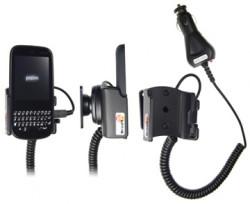 Support voiture  Brodit Palm Pixi  avec chargeur allume cigare - Avec rotule orientable. Réf 512123