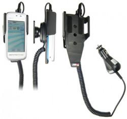 Support voiture  Brodit Nokia 5230  avec chargeur allume cigare - Avec rotule orientable. Réf 512124