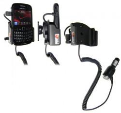 Support voiture  Brodit BlackBerry Curve 8520  avec chargeur allume cigare - Avec rotule orientable. Réf 512132