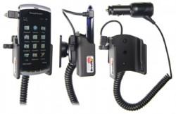 Support voiture  Brodit Sony Ericsson Vivaz  avec chargeur allume cigare - Avec rotule orientable. Réf 512133